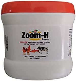 REFIT ANIMAL CARE - Zeolite Based Multivitamin with Vitamin H Powder For Cattle, Poultry and Fish With Vitamin H, Zoom - H...