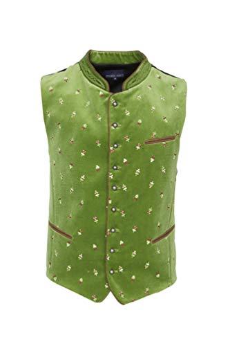 Stockerpoint - Herren Trachten Weste in verschiedenen Farbtönen, Calzado, Größe:54, Farbe:Hellgrün