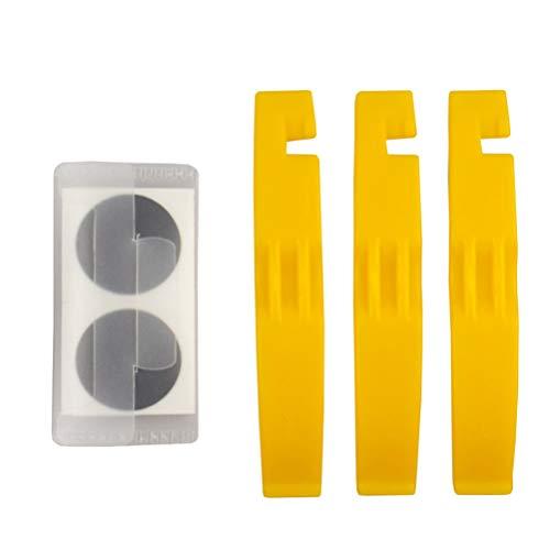 BESPORTBLE 2 Sets Kit de Herramientas de Reparación de Neum