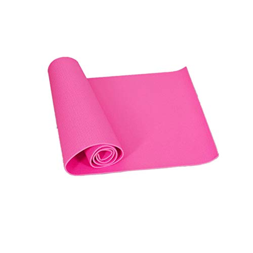 YCEOT 6 mm tjock PVC pilate halkfri yogamatta fitness övning viktminskning dyna