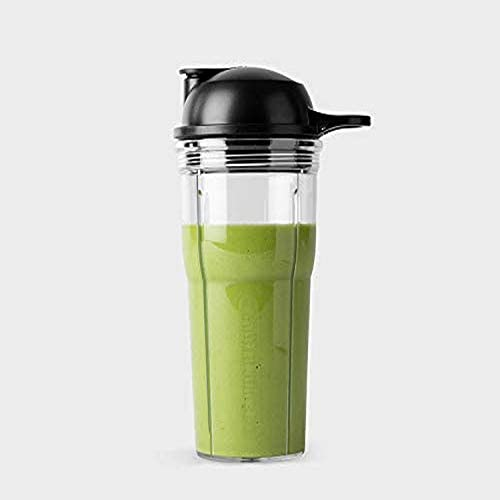NutriBullet Cup and to Go Lid 20 oz Clear Black product image