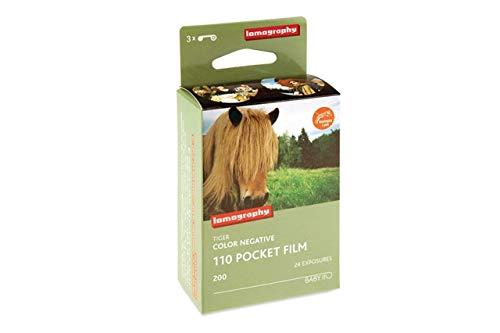 Lomography Tiger Colour 110 Film - 3 Pack