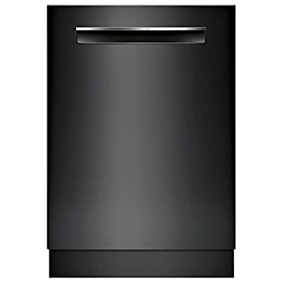 """Bosch SHPM65W56N 24"""" 500 Series Built In Fully Integrated Dishwasher with 5 Wash Cycles, in Black"""