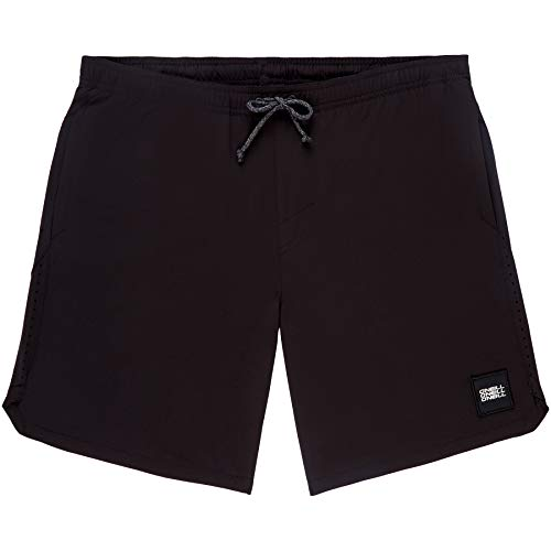 O'Neill Herren HM All Day Hybrid Shorts Badehose, Schwarz (Black Out), S
