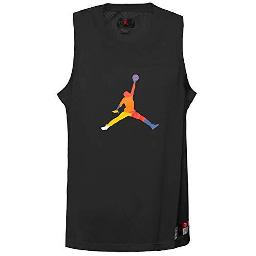 Nike M J SPRT DNA Hbr Pullover - Short Sleeve Top Herren L Schwarz