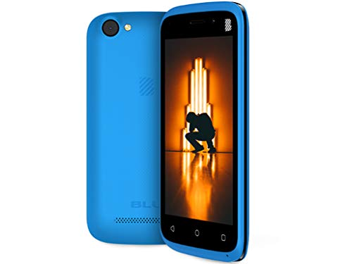 Blu Advance L4 Android Cell Phone V 8.1 Oreo (Go Edition) 8GB GSM Smartphone 3G(Cyan)