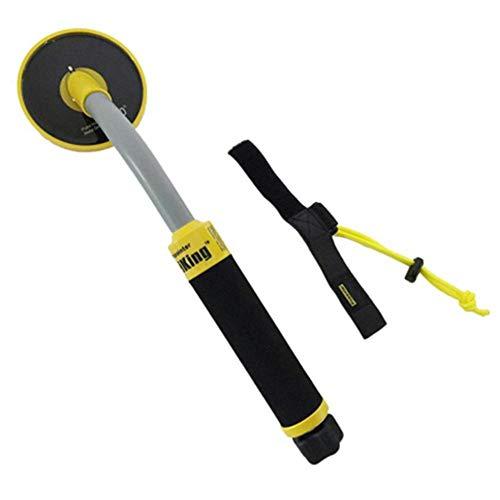 Tenlso Detector de Metales Sumergibles de Inducción de Pulso de Mano con Ibración y Indicador de Detección de LCD para búsqueda de Tesoros