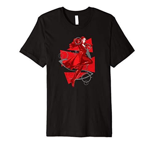 Marvel Scarlet Witch Wanda Maximoff Premium T-Shirt