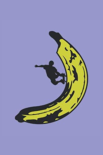 Skateboard Banana: Notebook