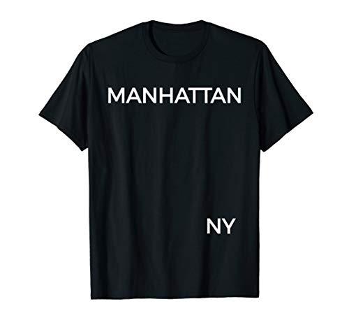 Manhattan T Shirt, New York, Manhattan Gift & Souvenir