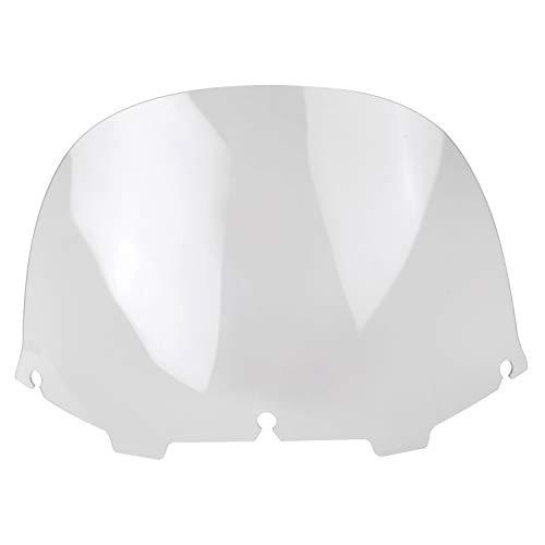 Bid4ze Parabrisas transparente de 13 pulgadas para Harley Touring Electra Street Glide...