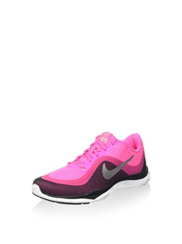 Nike Damen Flex Trainer 6 Fitnessschuhe, rosa/lila, 36.5 EU