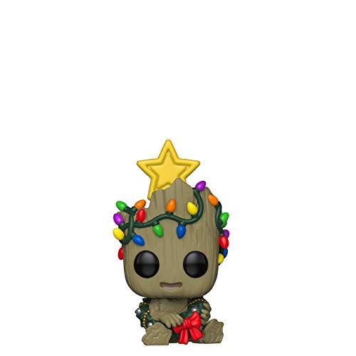 Funko Pop! Bobble Vinyle Marvel: Holiday - Groot