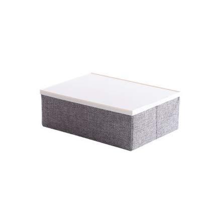 BBGSFDC Caja de almacenamiento plegable de tela para el hogar, para guardar ropa, juguetes, no tejida, funda de tela grande
