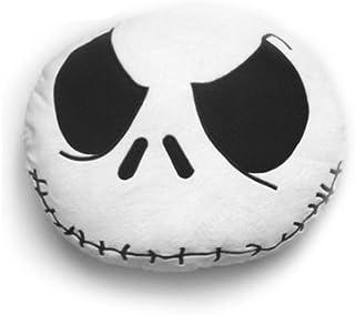 Nightmare before Christmas Jack Skellington Smiley - Cojín, color blanco