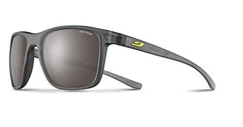 Julbo Trip - Gafas de sol para hombre, color negro translúcido mate y gris translúcido mate, FR: M (talla fabricante: M)