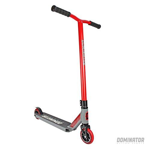 Dominator Ranger Pro Stunt Scooter (rojo/gris)