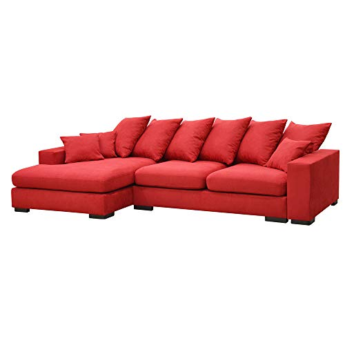 Selsey Sofa, Rot, 285 x 158 x 108