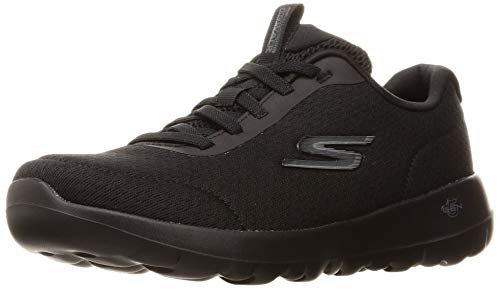 Skechers Women's GO Walk Joy-Ecstatic Sneaker, Black, 13
