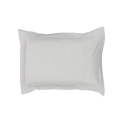 Drap House Taie d'oreiller Satin 50x70 Blanc - Couleur: Blanc
