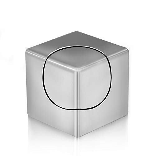 FC Fidget Spinner, Spin Stability Alloy Finger Spin Cube, Relief ADHD Anxiety Autism, Stainless...