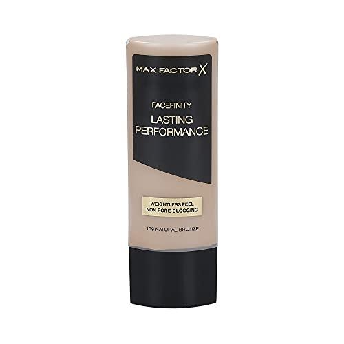 Max Factor Lasting Performance Foundation 109 - Base per Make Up (bronzo naturale) da 35ml.