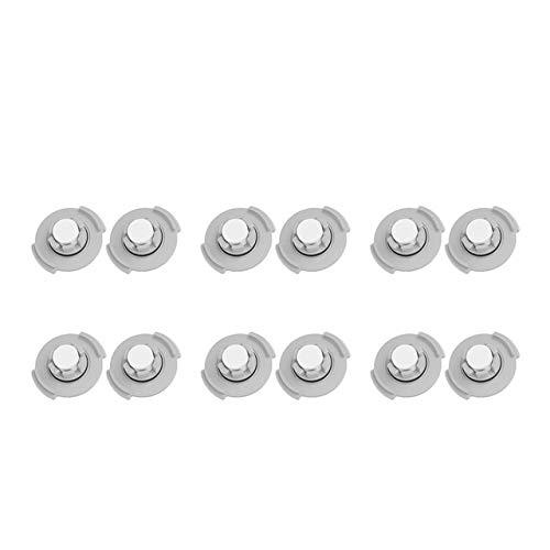 Xiaomi Lot de 12 filtres pour réservoir d'eau d'aspirateur-robot laveur Xiaomi Mi Robot 2, Roborock S50