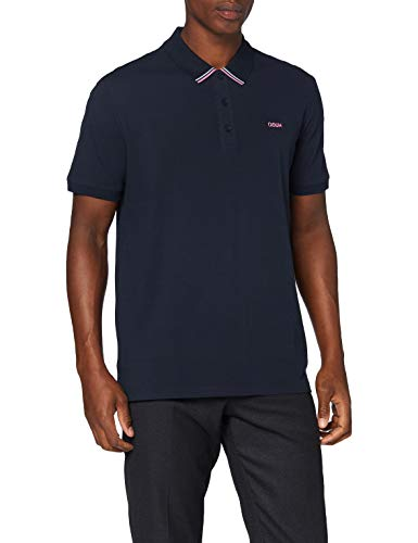 HUGO Herren Polo Shirt Daruso203, Dark Blue(405), XL