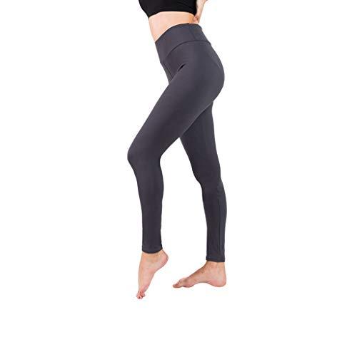 SEMIR Damen Leggings (2 Pack) Knöchellang Blickdichte Leggins Lang Yoga Tights Viele Größen (Grau, M)