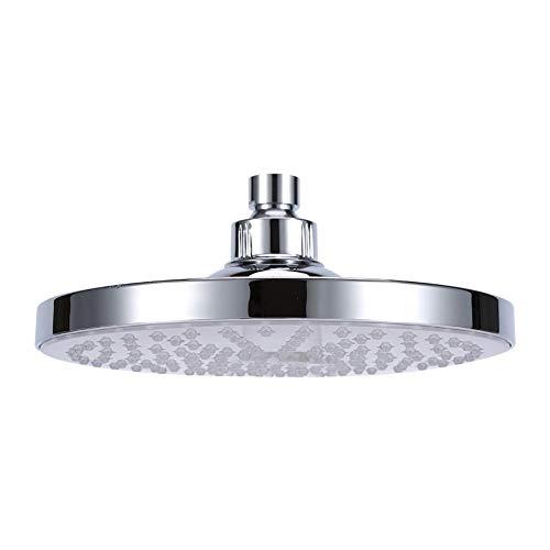 20,3 cm (8 inch) 7 kleuren LED kleurverandering van de douchekop produceert stroom met de automatische waterstraal badkuip regenbad ronde regenlamp top douche