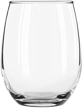 Libbey 207 Stemless 9 Ounce Wine Glass - 12 / CS