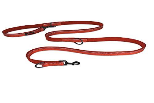 Halti Hundeleine, doppelseitig, klein, Rot, 0,08 kg