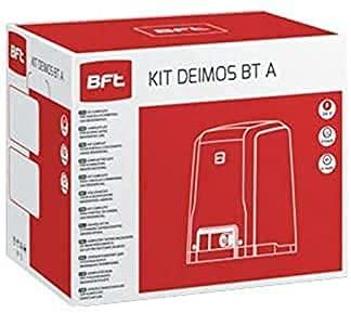 BFT Deimos Ultra BT Kit A600 Motoriduttore Cancelli Scorrevoli 24V Fino 600 KG Peso Tecnologia D-Track R925268 00002