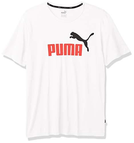 PUMA Essentials Camisa, Blanco, XS para Hombre