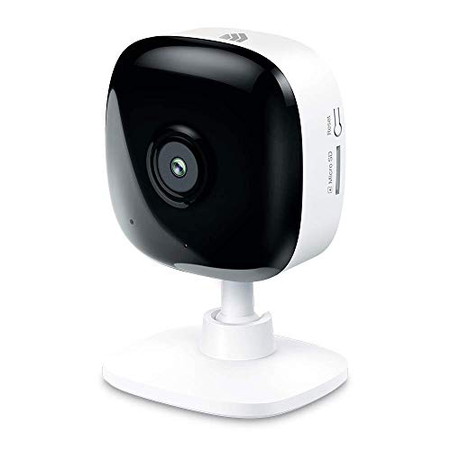 Kasa Indoor Smart Home Camera by TP-Link, 1080p HD Security Camera Wireless 2.4GHz with Night Vision, Motion Detection for Baby Monitor, Cloud & SD Card Storage, Works with Alexa & Google Home (EC60)