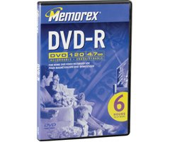 Memorex 4.7GB DVD-R Media (Discontinued by Manufacturer)