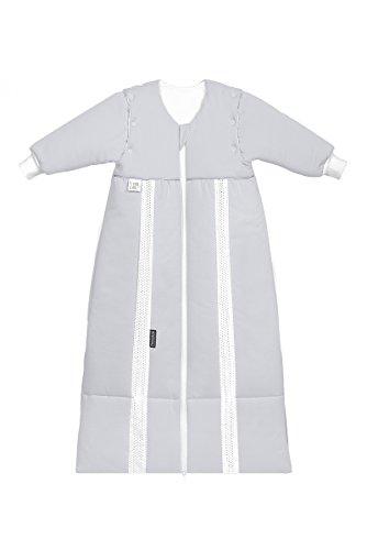 Odenwälder Prima Klima Thinsulate Schlafsack mit Ärmeln light silver, Größe:70-90