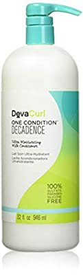 DevaCurl One Condition Decadence - Hair Conditioner (Women, Curly Hair, Moisturising, Softening, Bottle, Chufa Milk: Rich in Vitamins and Minerals to Nourish, Moisturise and Revitalise Hair, Apply a Generous Amount of Conditioner to Wet Hair and Use Your