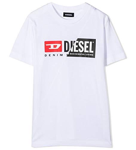 Diesel Tdiegocuty T-Shirts & Poloshirts Kind Weiss - 14 Ans (14 Jahre) - T-Shirts Shirt