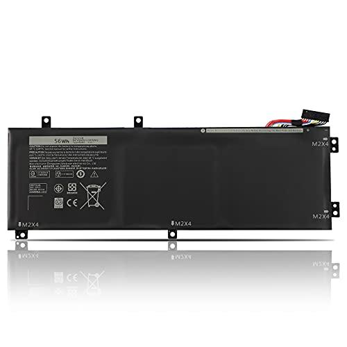 K KYUER 56Wh H5H20 Laptop Akku für Dell XPS 15-9560-D1745 15-9560-D1845T 15-9570-D1945T 15-9570-D1841 15-9570-D1845 15-9570-D15-15-1 9570-D. 1741 Precision M5520 5520 5530 Xeon E-2176M Workstation