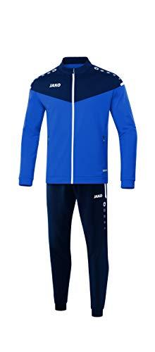 JAKO Kinder Champ 2.0 Trainingsanzug Polyester, royal/Marine, 164