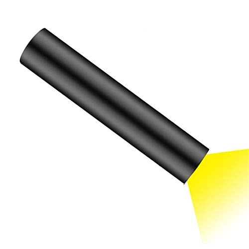 SXDY USB-oplaadbare mini-zaklamp, werklamp en powerbank, draagbare buitenverlichting, multifunctioneel, waterdicht, 5 modi voor wandelen, kamperen, noodgevallen, studenten