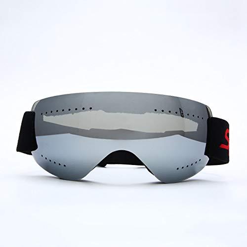 LG Schnee Silber Ultra Randlos Anti-Fog-Skibrille Motocross Außenwintersport Anti-Wind Reiten Ski Mountaineering Männer Frauen Kinder Geschenk