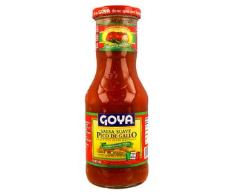 Goya - Salsa Suave - Mild Sauce - Pico de Gallo - ideal para Tacos - Fajitas - Burritos y Nachos - 500 Gramos