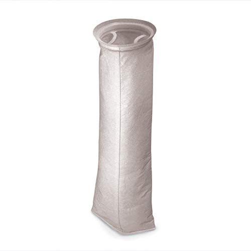 Bag Filter 25 Micron. Part BF-Bag2518 (Pack of 5). 3' x 18' Standard Filter Bag for Bypass Filter Feeder Like The Advantage Controls Models.
