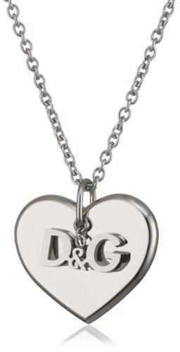 D&G Dolce&Gabbana Damen-Halskette Edelstahl DJ1044