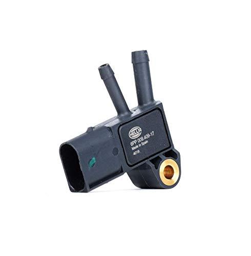 HELLA 6PP 009 409-171 Sensor, Abgasdruck - 3-polig - geschraubt
