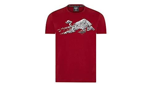 RB Leipzig Stadium Bull T-Shirt, Herren X-Large - Original Merchandise