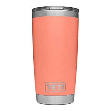 YETI Rambler 20oz with MagSlider Lid, LE Coral