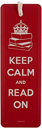 VD - Targhette per porte Keep Calm and Read On